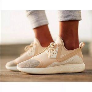Women's Nike LunarCharge Essential Beige Sneakers